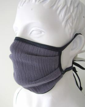 Mouth mask and face mask handmade BIO cotton muslin