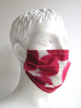 Mouth mask and face mask handmade Cherry