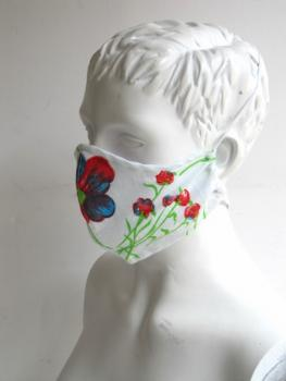 "Mouth mask and face mask "" Flowers"""