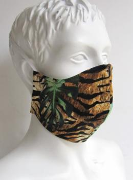 "Mouth mask and face mask "" Jungle """