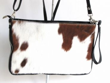 handbag, clutch , cowhide , leather