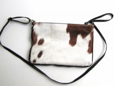 handbag, clutch , cowhide ,