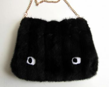 Mink ,fur, bag