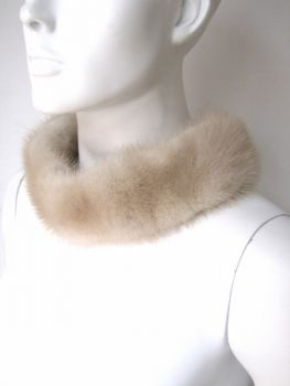 Mink, fur, collar