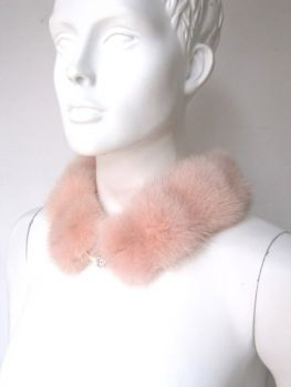 Mink , Collar, Fur ,Loop, Rose