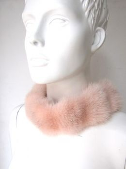 Mink , Collar, Fur , Rose