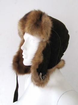 Sable hat Chapka made of russian sable