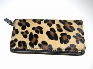 purse , cowhide ,Leo, fur