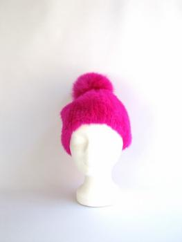 Mink , Beanie ,Fox ,Fur ,Bobble,