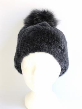 bobble ,hat ,fox ,fur,