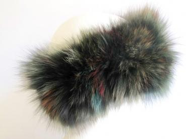 Browband fox fur loden green