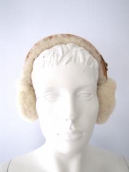 ear warmer genuine sheepskin