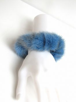 Scrunchy Fur blue