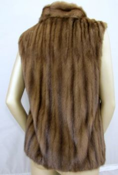 Fur, vest, genuine, mink