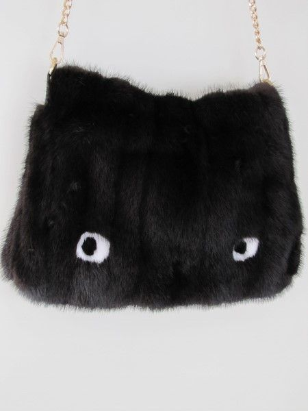 Mink ,fur, bag ,monster