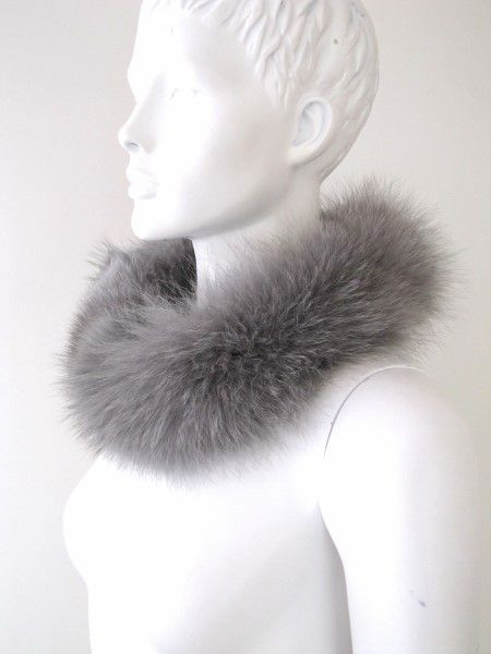 Fur Loop Fox grey