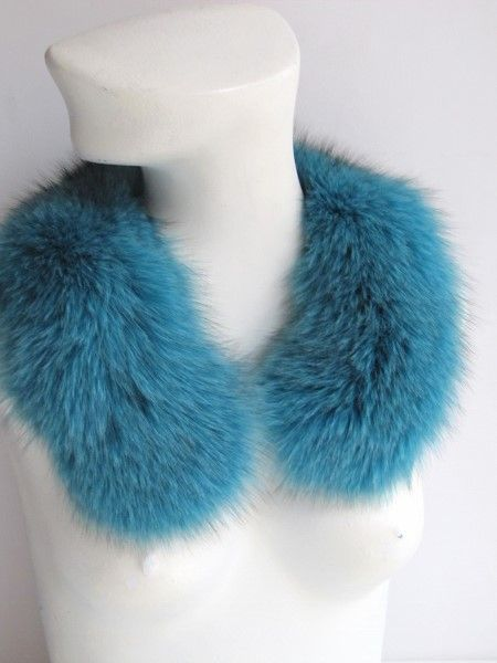 Fur, collar, loop ,premium ,fox