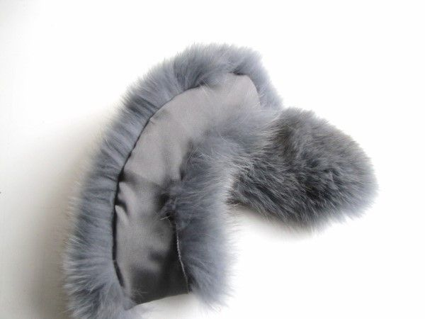 Fur Loop grey